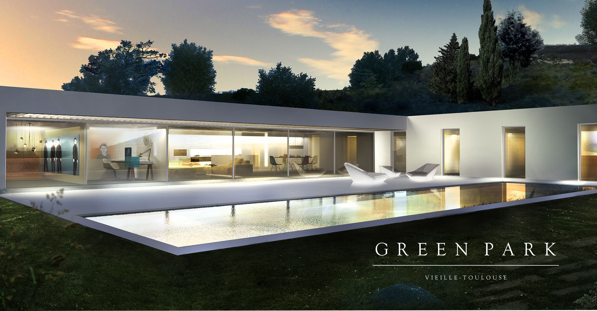 Green Park - Vieille Toulouse - Villa 3